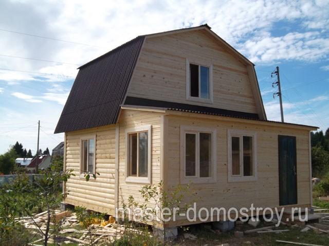 О строительстве дома 6х6 м с верандой