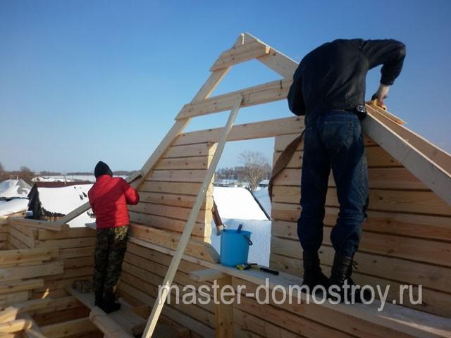 Строительство мансарды из бруса