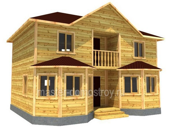 дом брус 2